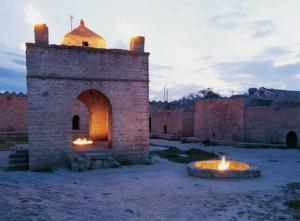 """""""Храмът на огъня"""" в Баку"""