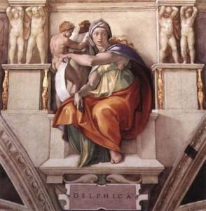 Pythia spored Michelangelo