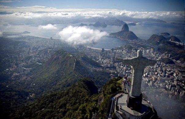 Brazil famous statue