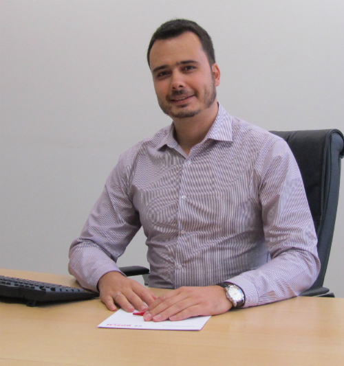 Стефан Златев, търговски представител в Бош Термотехника България