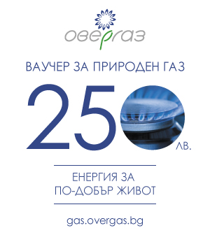 250 лева за природен газ